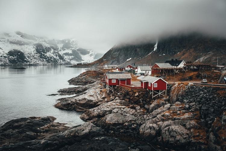 najbardziej niesamowite miejsca Skandynawii